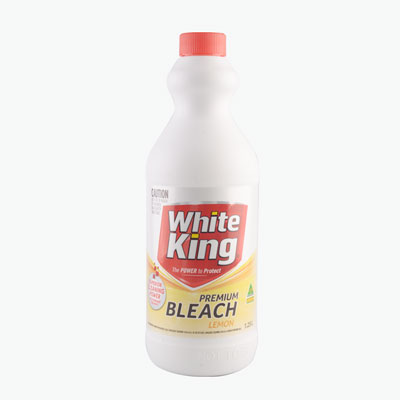 White King Lemon Scented Cleaner 1.25L