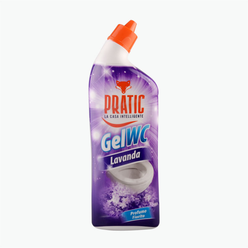 Pratic Lavender Scented Toilet Cleaner 750ml