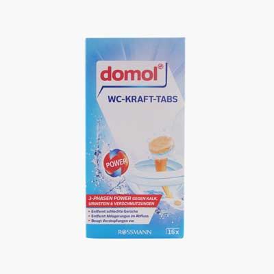 Domol Toilet Effervescent Cleaning Tablets