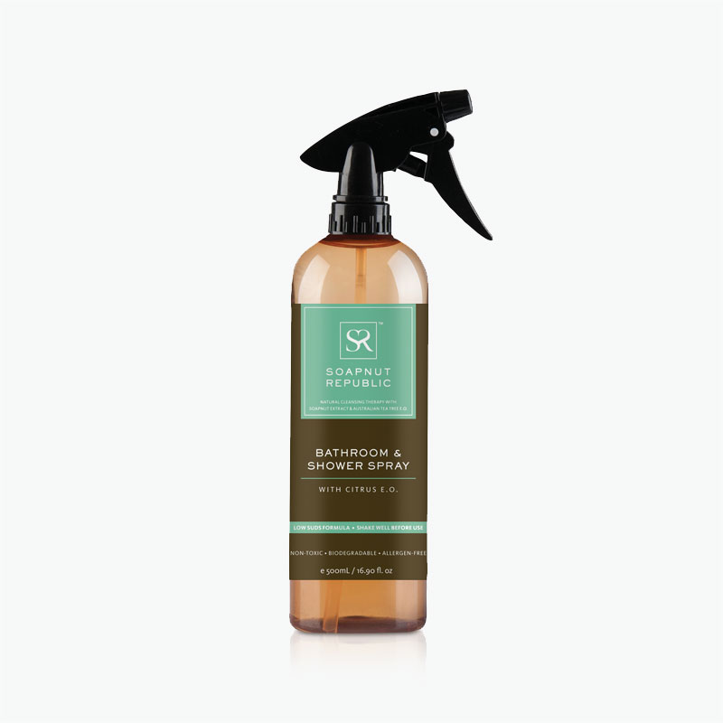 Soapnut Republic, Bathroom & Shower Spray 500ml