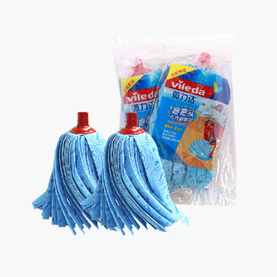 Vileda Blue Mop Head Replacement X2