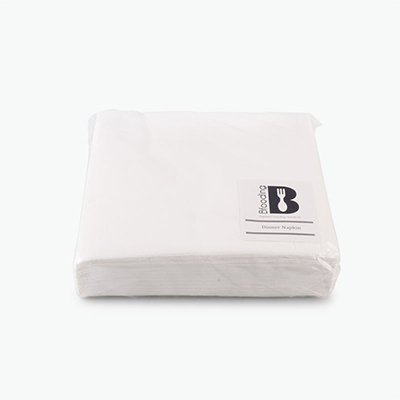 Bfooding White Paper Napkins 33x33cm 50pcs