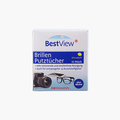 Best View Camera Glass Wipes x52