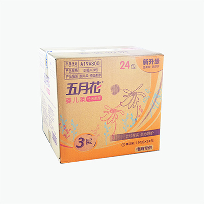 May Flower Soft Tissues x24 120 sheets
