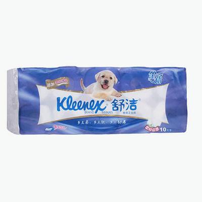 Kleenex, 3-ply Toilet Paper Rolls x10