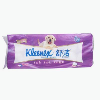 Kleenex, Premium 3-ply Toilet Paper Rolls x10