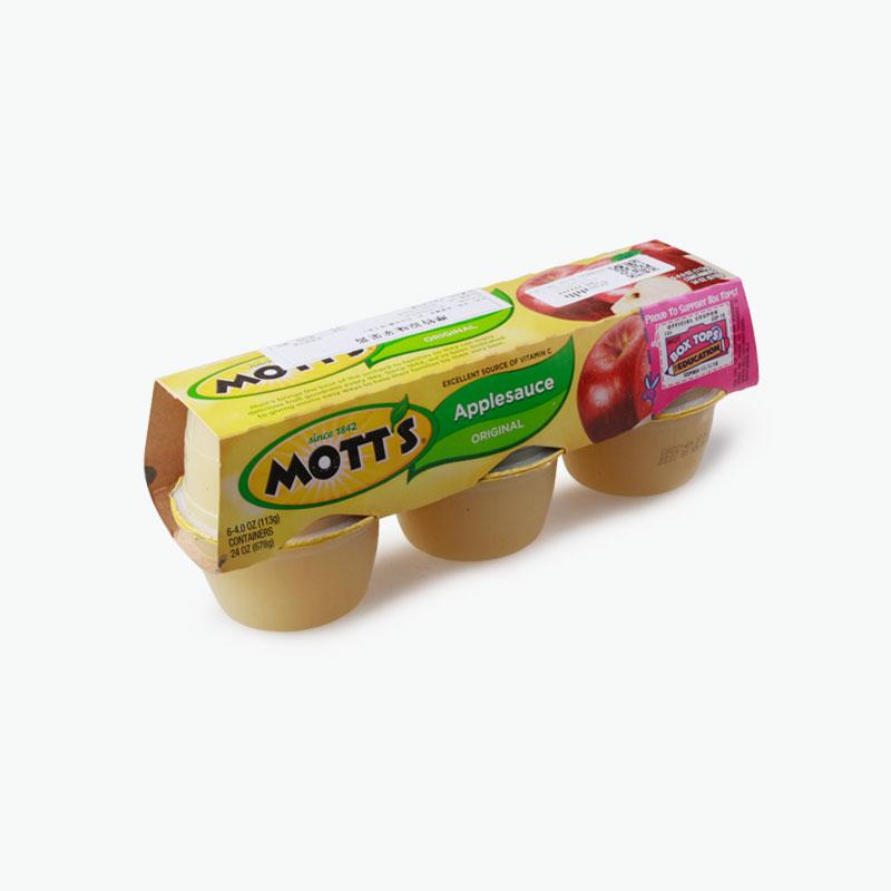 Mott's, Apple Sauce (Original) 113g x6