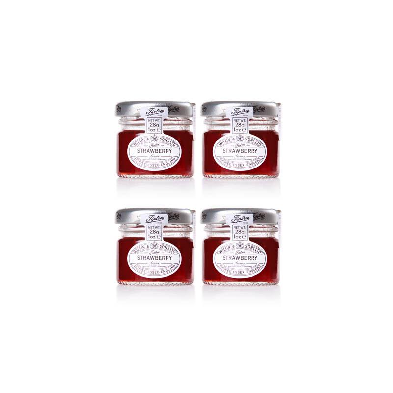 Tiptree Wilkin & Sons, Strawberry Jam 28g x4
