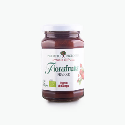 Rigoni di Asiago, 'Fiordifrutta' Organic Strawberry & Wild Strawberry Jam 250g
