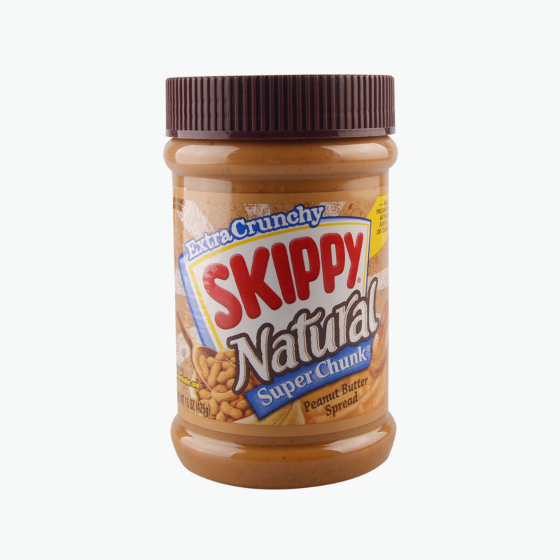 Skippy Peanut Butter, Natural Super Chunk 425g