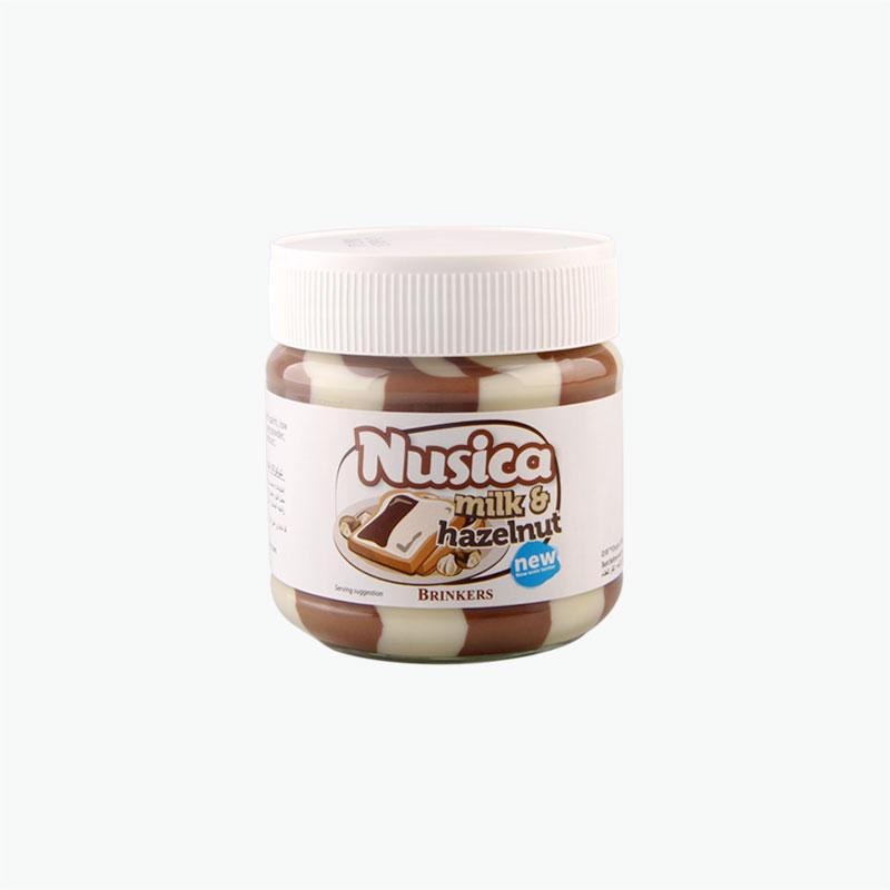 Brinkers Nusica Milk and Hazelnut Spread 200g