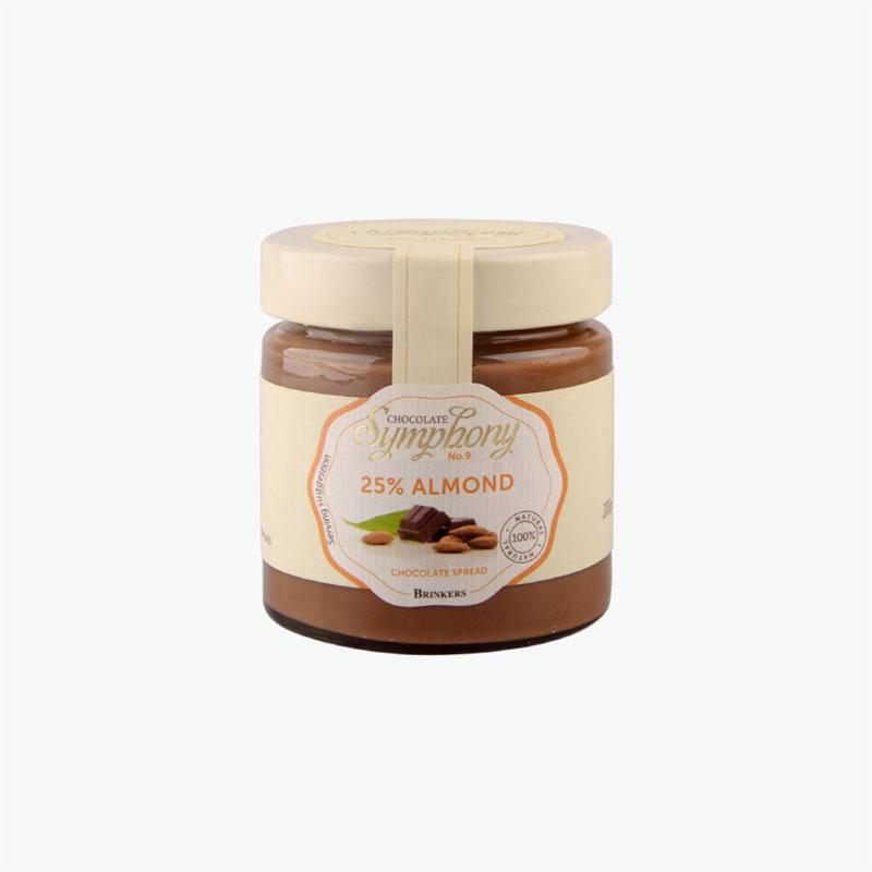 Brinkers Chocolate Symphony 25% Almond Chocolate Spread 200g