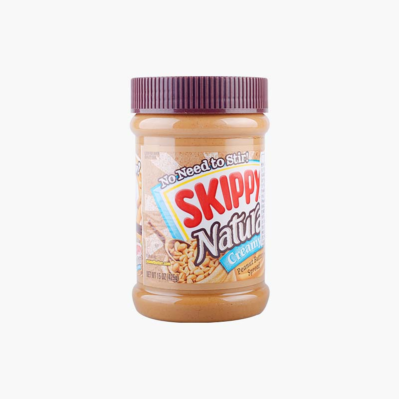 Skippy, 100% Natural Creamy Peanut Butter 425g