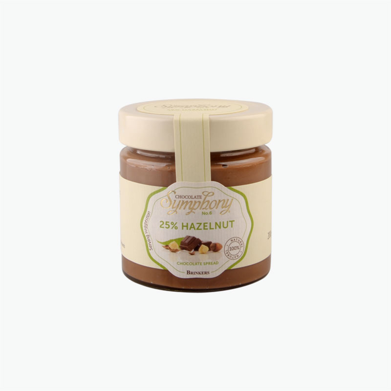 Brinkers Chocolate Symphony 25% Hazelnut Chocolate Spread 200g