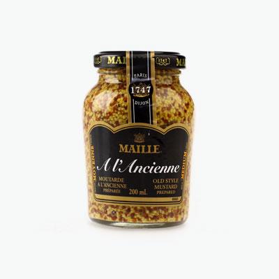 Maille Old Style Dijon Mustard 200ml