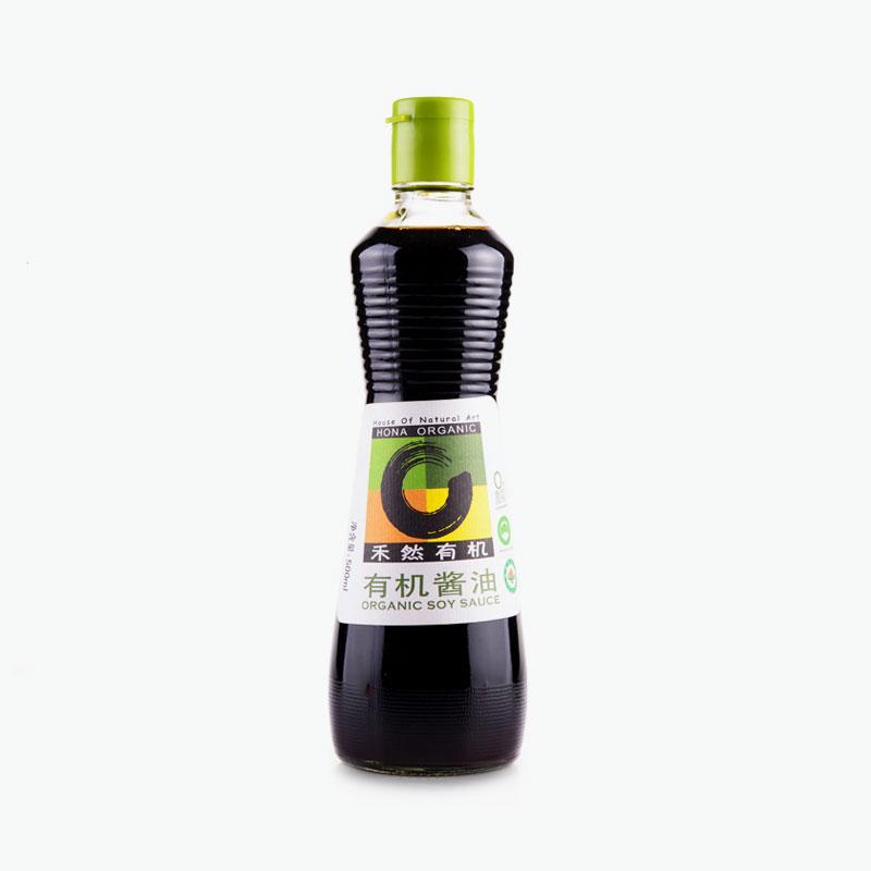 HONA Organic, Soy Sauce 500ml