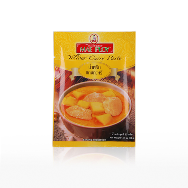 Mae Ploy, Yellow Curry Paste 50g