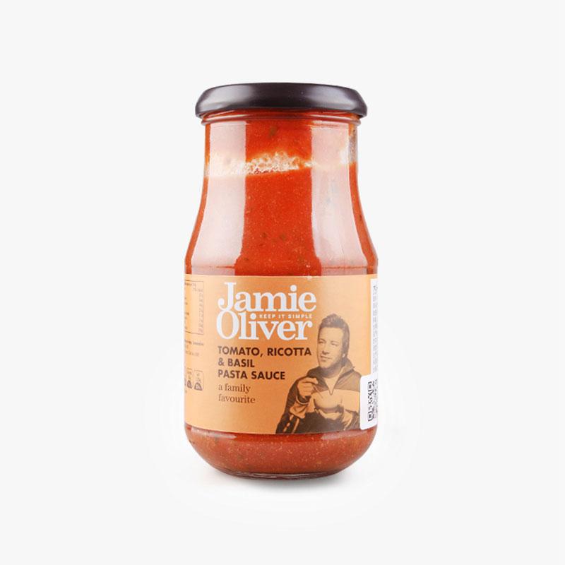 Jamie Oliver Tomato Ricotta Basil Pasta Sauce 400g
