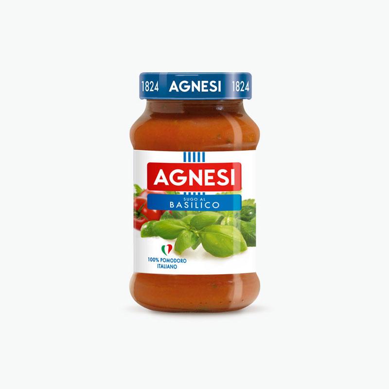 Agnesi, Tomato & Basil Pasta Sauce 400g