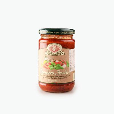 Rustichella d'Abruzzo, Tomato Basil Pasta Sauce 270g
