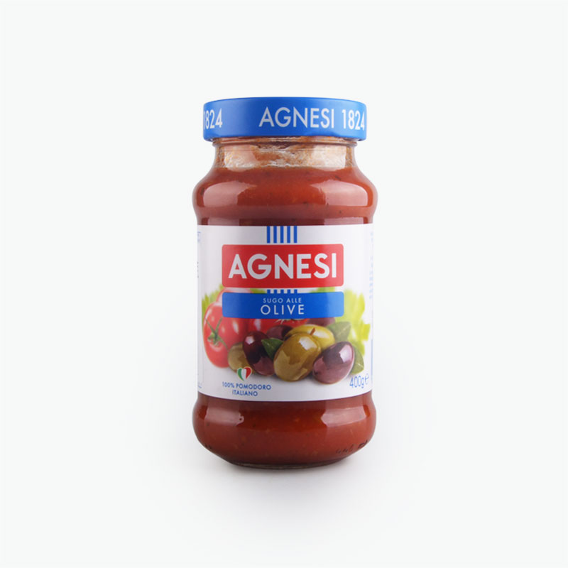 Agnesi, Tomato & Olive Pasta Sauce 400g