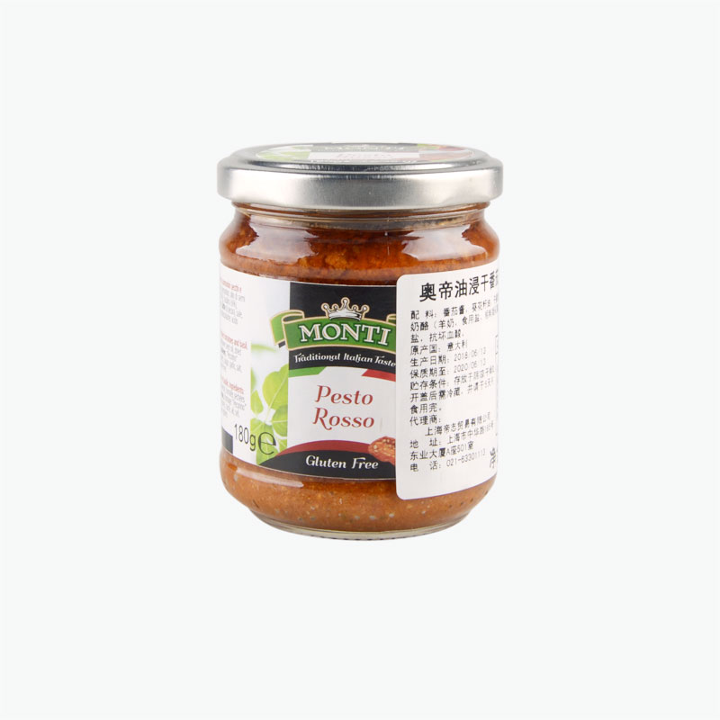 Monti, Dried Tomato in Oil Pasta Sauce 180g