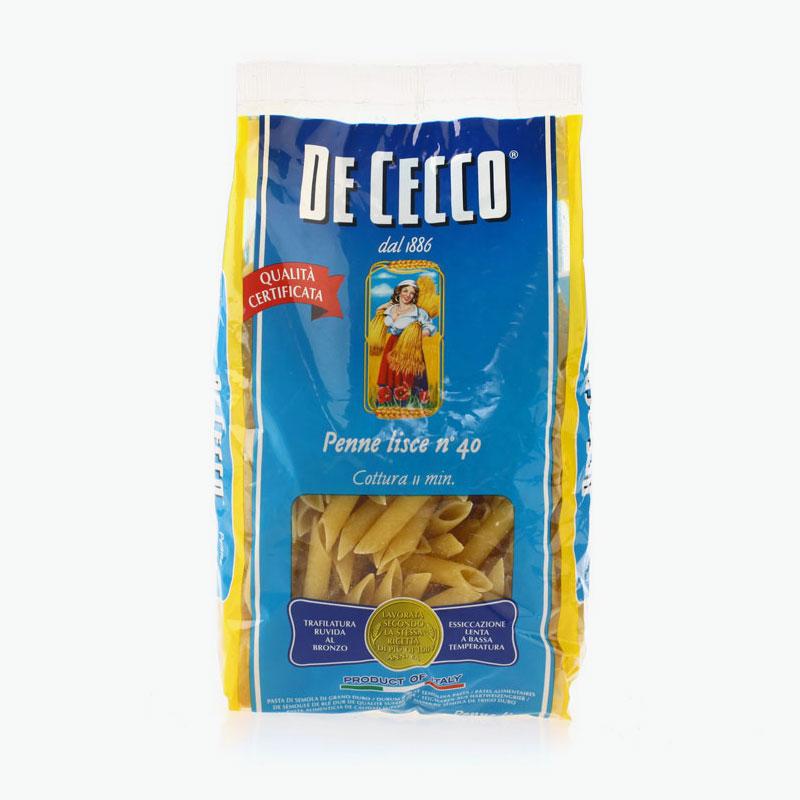 De Cecco, Penne Lisce No.40 500g