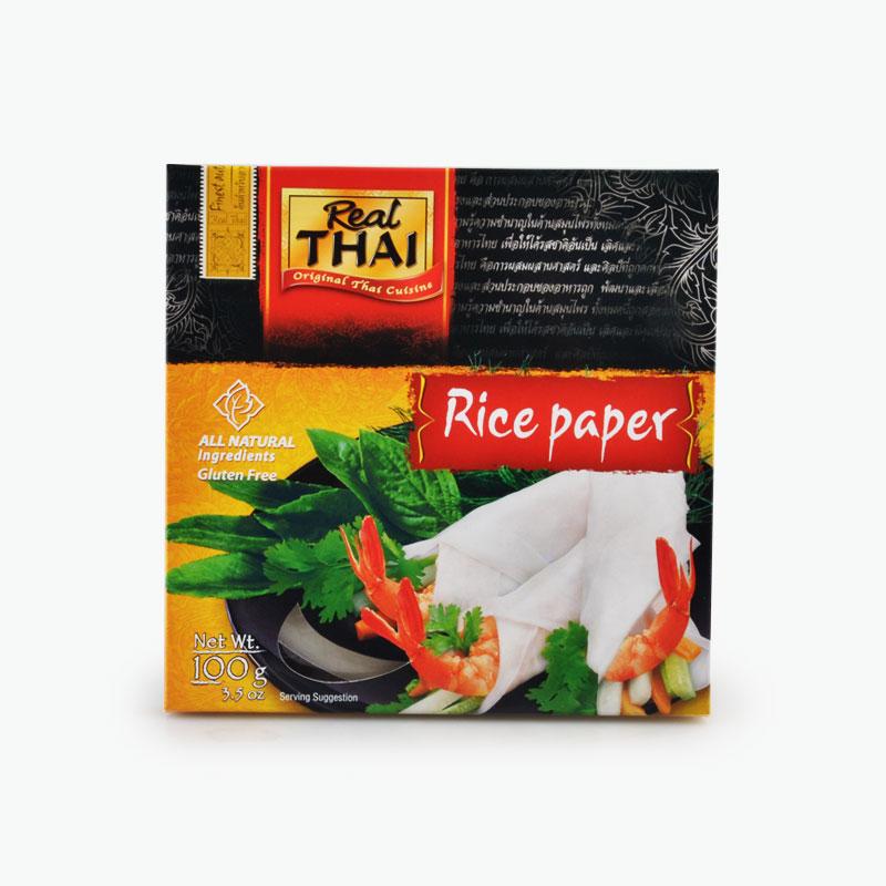 Real Thai, Round Rice Paper (16cm) 100g