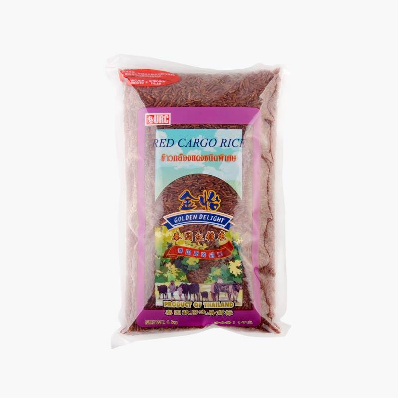 Golden Delight Thai Red Cargo Rice 1kg