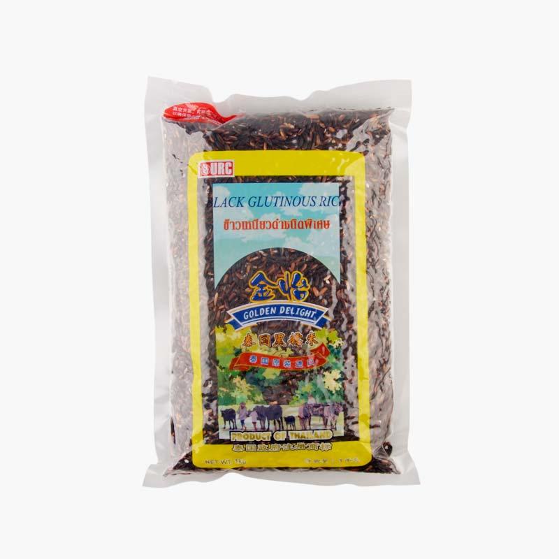 Golden Delight Thai Black Glutinous Rice 1kg