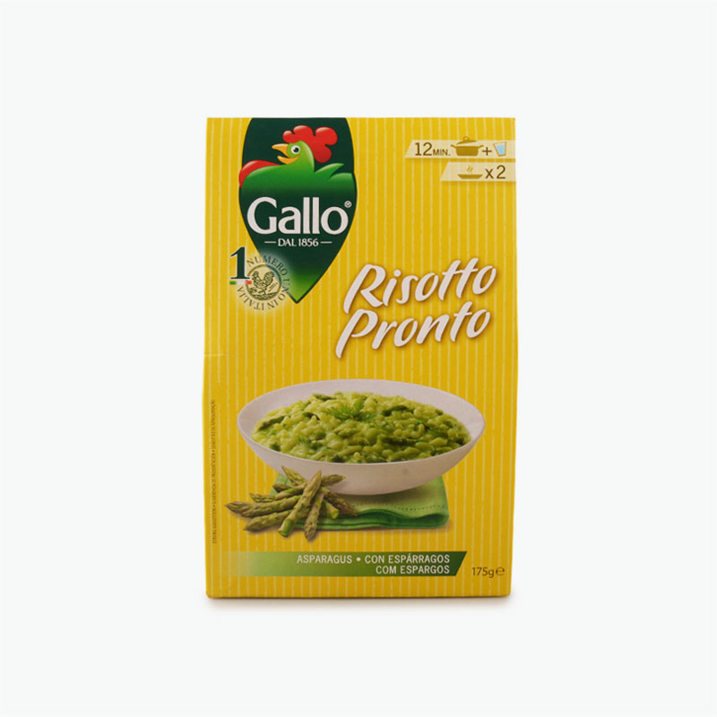 Gallo, Risotto Pronto Asparagus, 175g