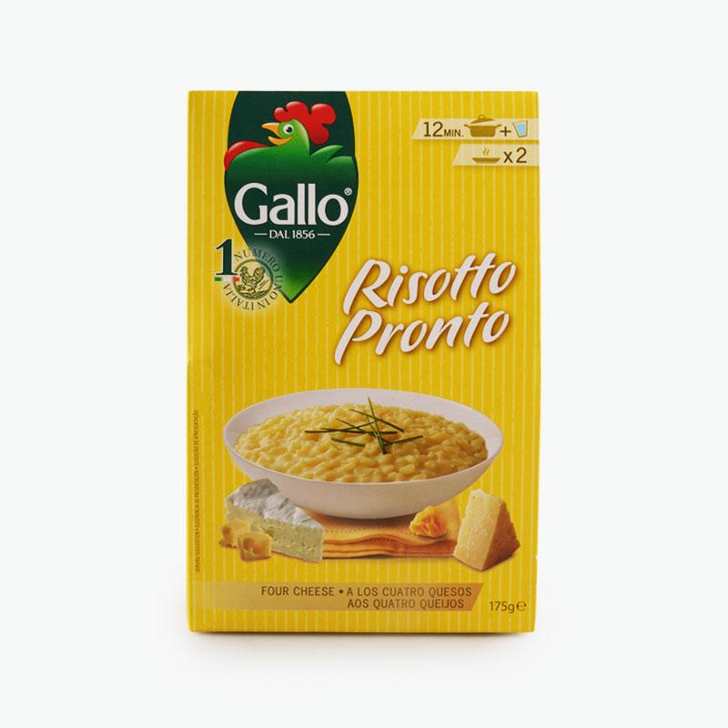 Gallo, Risotto Pronto 4 Cheese, 175g