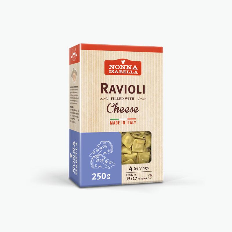 Nonna Isabella, Dried Ravioli (Cheese) 250g