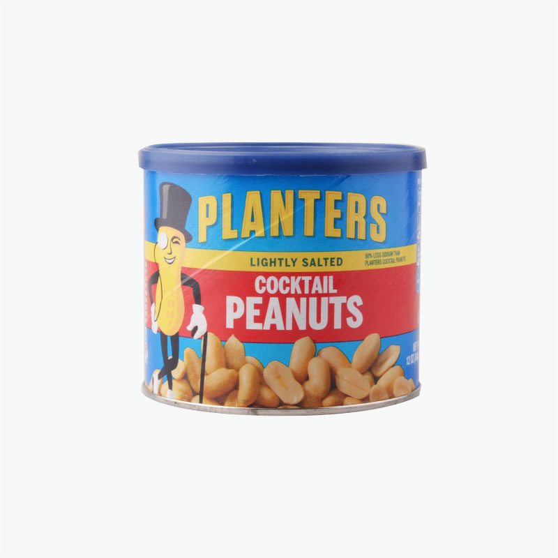 Planters Cocktail Peanuts Lightly Salted 340g
