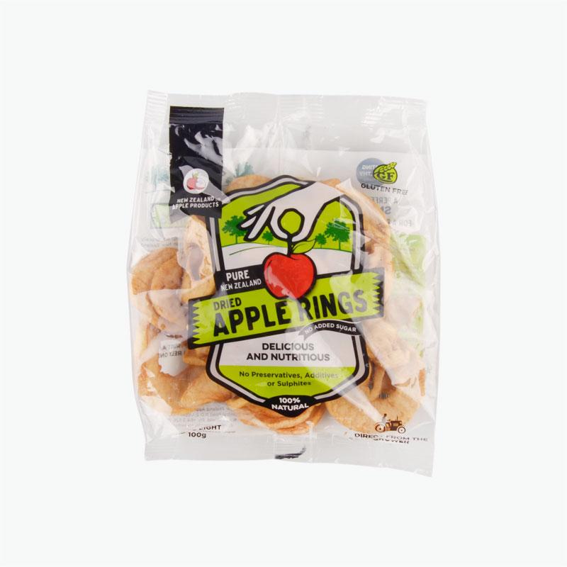 Fruit Hitz Dried Apple Rings 100g