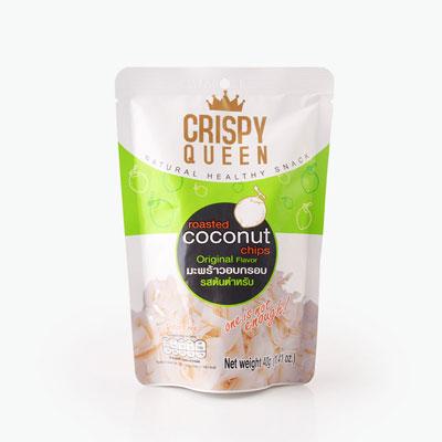 Crispy Queen, Coconut Chips (Original Flavor) 40g