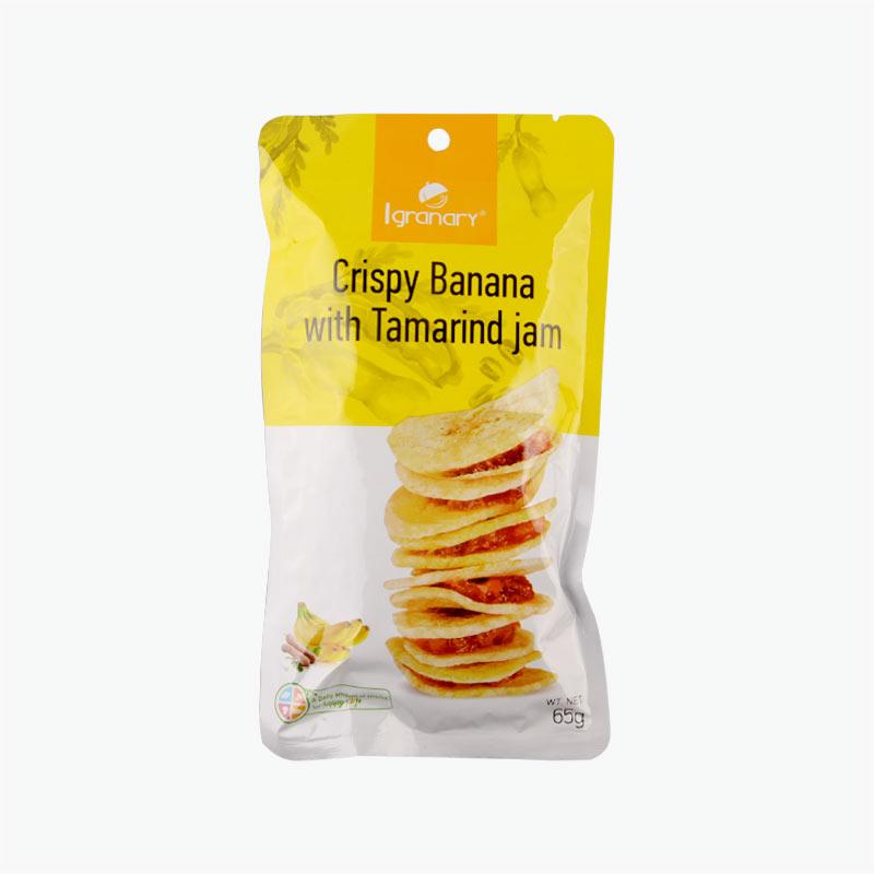 Igranary Crispy Banana with Tamarind Jam 65g