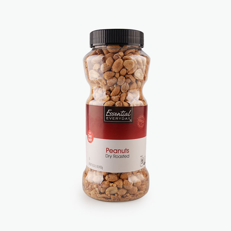 Essential Everyday, Dry Roasted Peanuts 453g