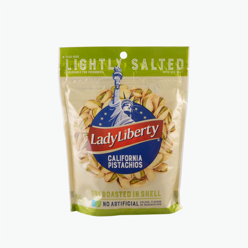 Lady Liberty California Pistachio Lightly Salted with Sea Salt 142g