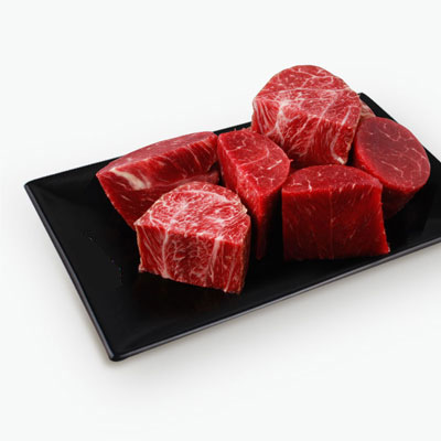 EperSelect Angus Grain Fed Beef Stew Set (Round Steak & Flat Iron) 750g