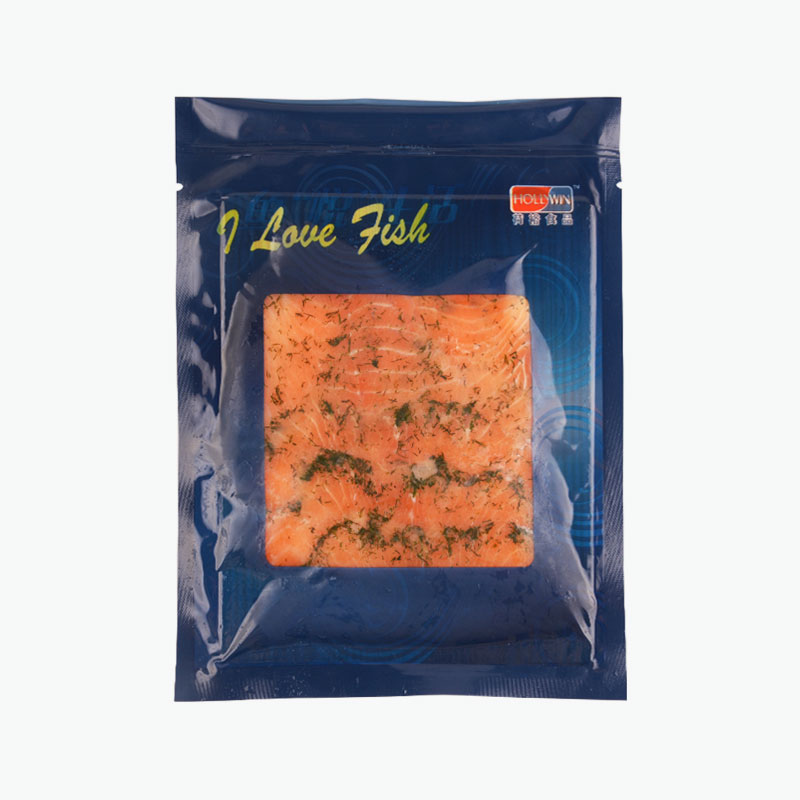 Hollywin, Salmon With Dill (Sliced) 100g