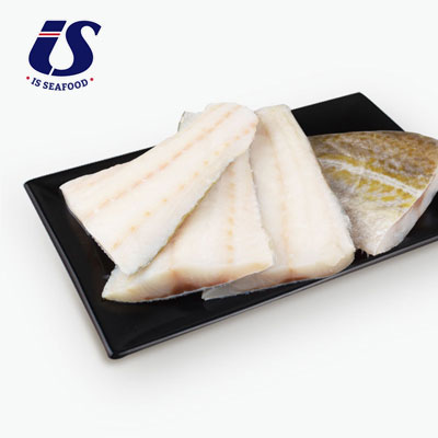 IS Seafood, Thin Skin-on Arctic Cod Fillets x4 600g