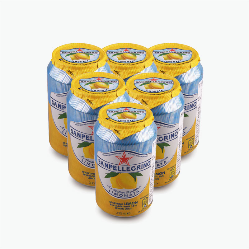 San Pellegrino, 'Limonata' Sparkling Lemon Beverage 330ml x6