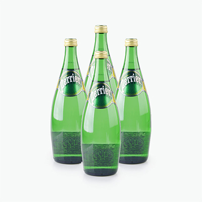 Perrier Carbonated Natural Drinking Water 750ml x4