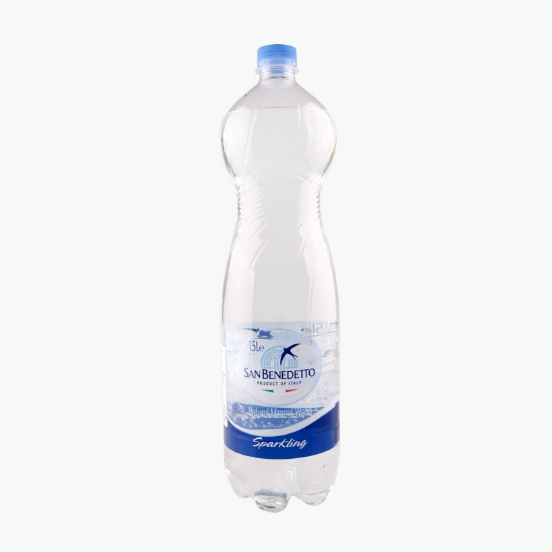 San Benedetto, Sparkling Natural Mineral Water 1.5L