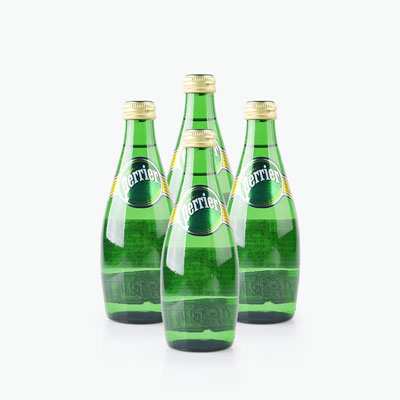 Perrier Carbonated Natural Drinking Water 330ml x4