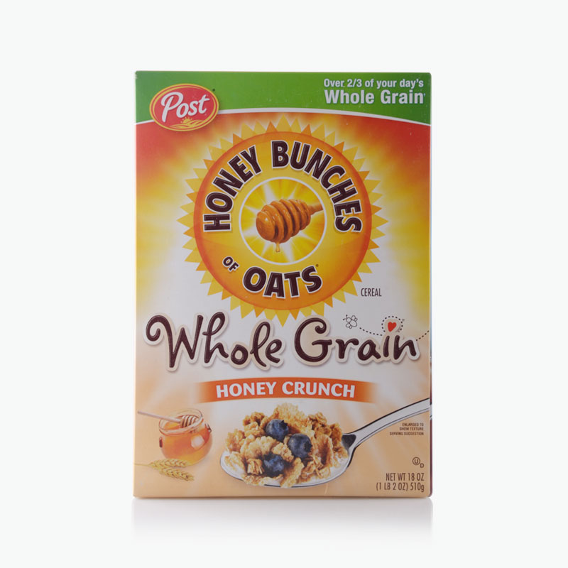 Post, Honey Bunches of Oats (Whole Grain Honey Crunch) 510g