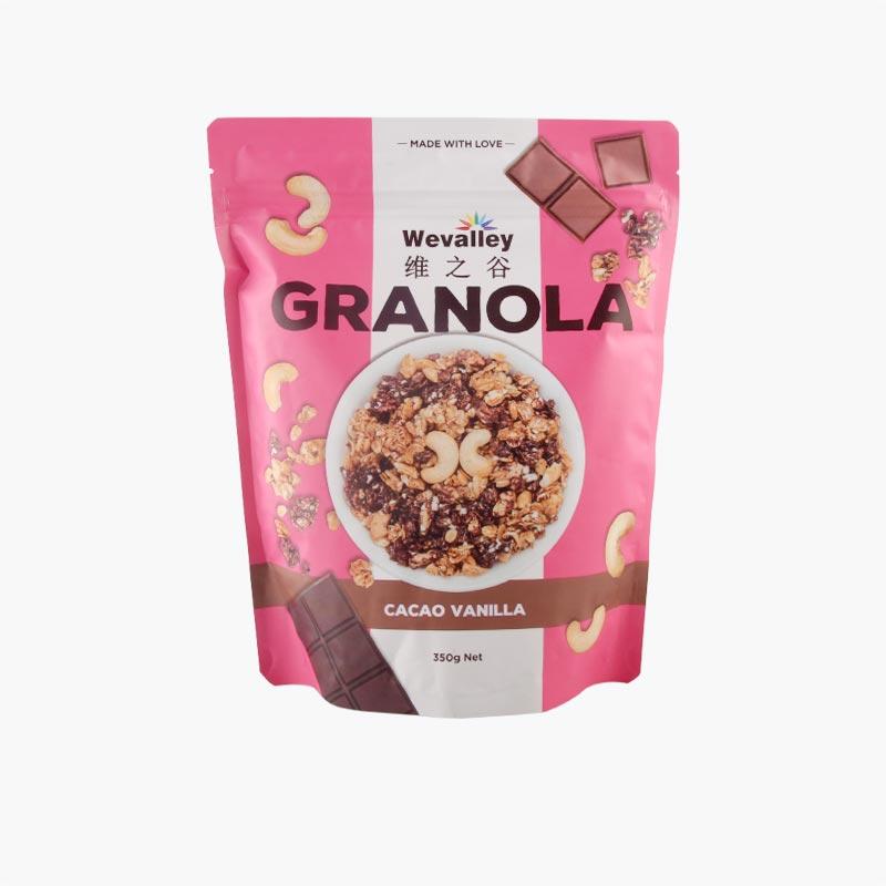 Wevalley Cacao Vanilla Granola 350g