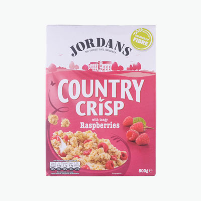 Jordan Cereal with Tangy Raspberries 500g