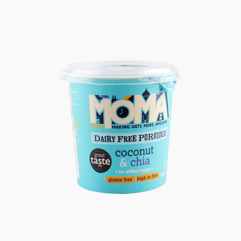 MOMA Instant Oat Porridge with Coconut and Chia Seeds 70g